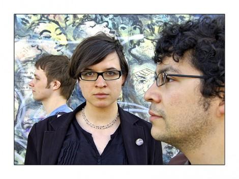 """Sascha, Kristin und Rafael (v. l. n. r.) von """"Margins"""" suchen nach dem richtigen Vertriebsweg."""