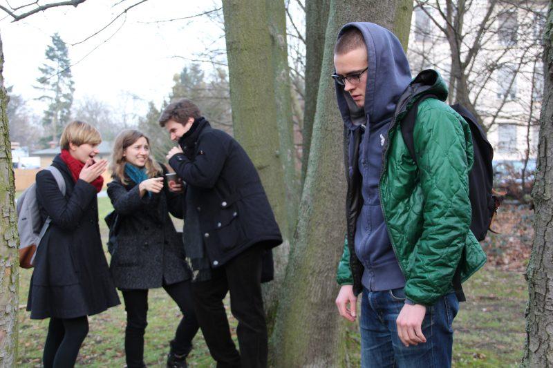 """Vom Opfer zum Verteidiger: Das Programm """"Fairplayer"""" möchte Mobbing und Gewalt an Schulen vorbeugen.  Foto: Fabienne Bieri"""