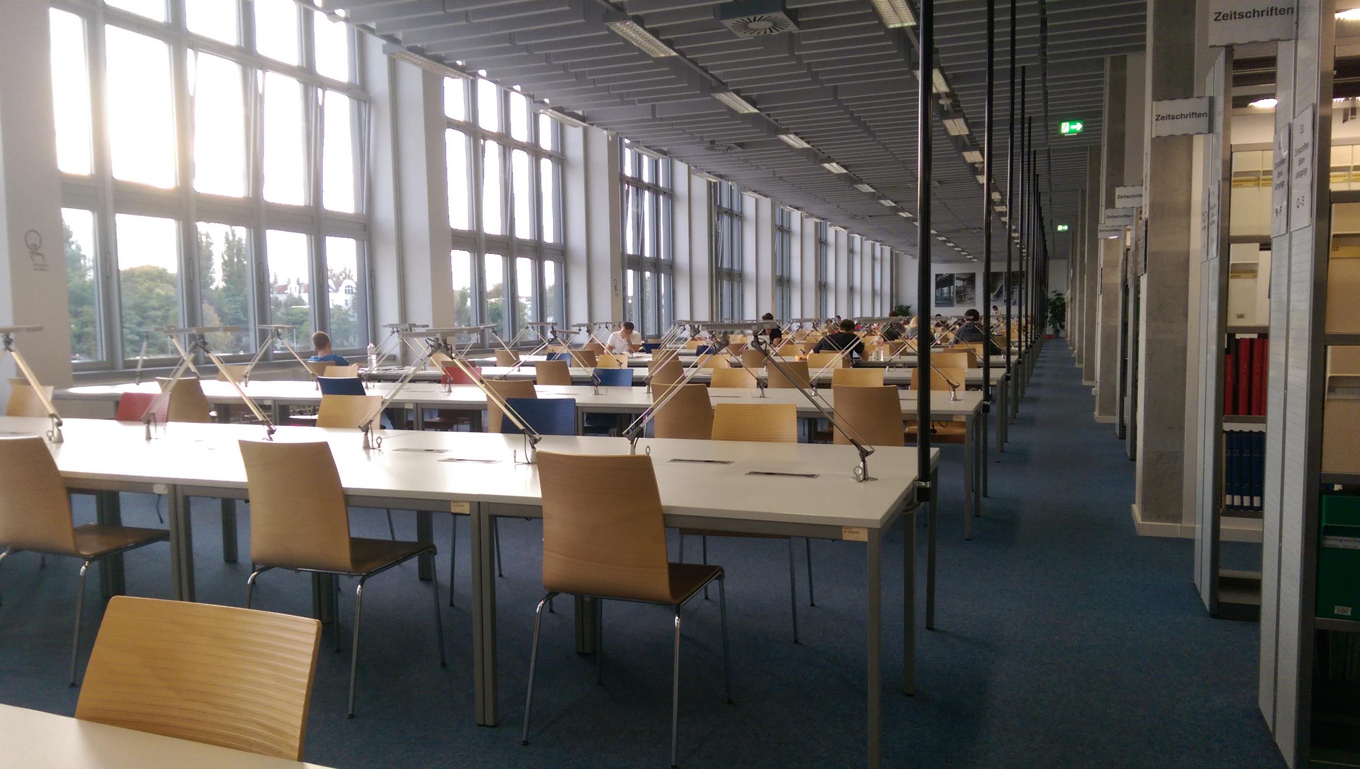 bibliothek campus johannstadt