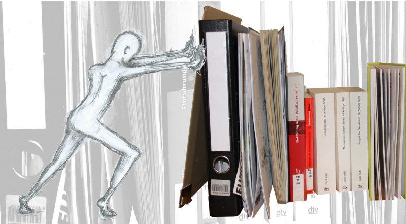 Bei den Workshops der ProkrastinationsPraxis  lernen Studierende der Aufschieberei ein Ende zu setzen. Illustration: Zoë Schütte