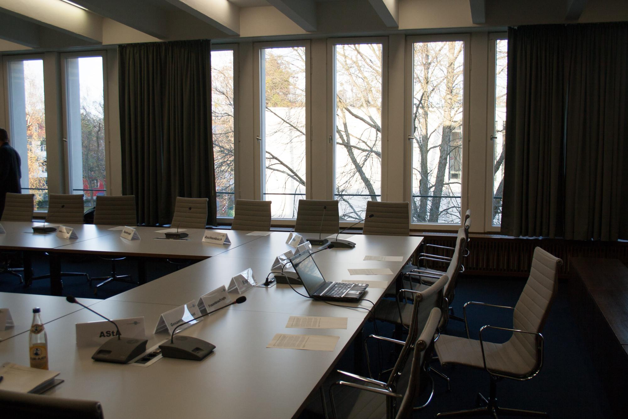 Der Akademische Senat hat einen neuen Struktuplan beschlossen. Foto: Julian Daum (Archiv)