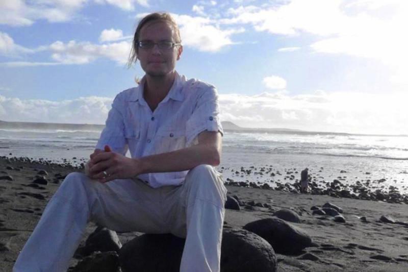 Nicht nur beim Singen sondern auch am Meer findet Marcus Entspannung vom Alltag. Foto: Privat