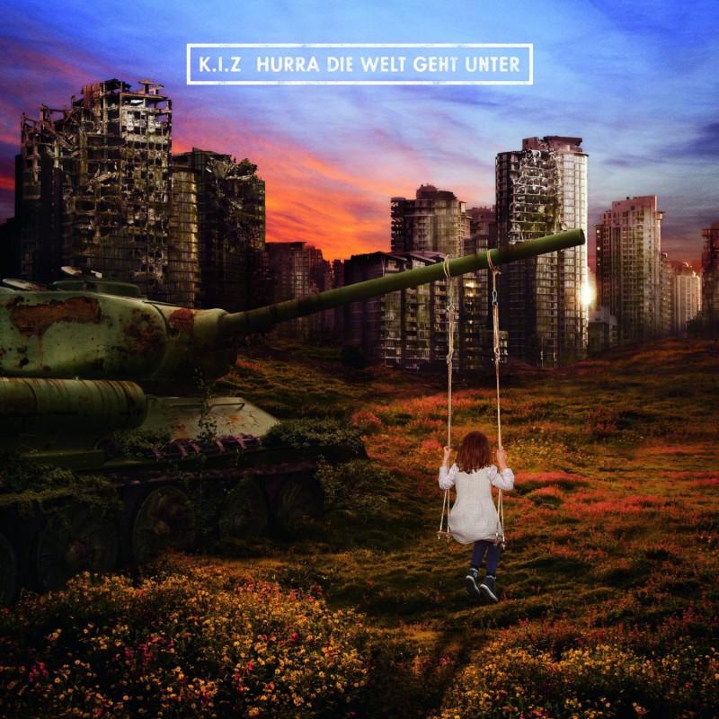 """Cover von """"Hurra die Welt geht unter"""". Foto: Vertigo (Universal)."""