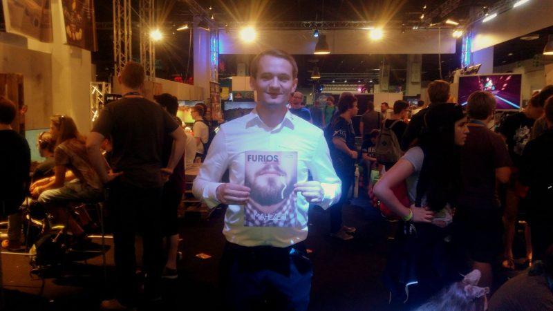 Spiele satt. Die Gamescom wird jedes Jahr zum Pilgerort für tausende Gamer. Foto: privat