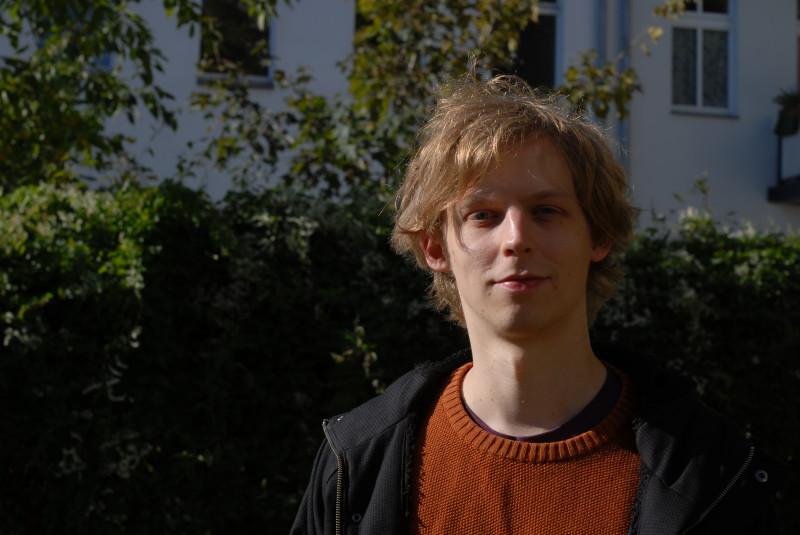 Hat gerade seinen ersten Roman veröffentlicht: Janko Marklein. Foto: privat