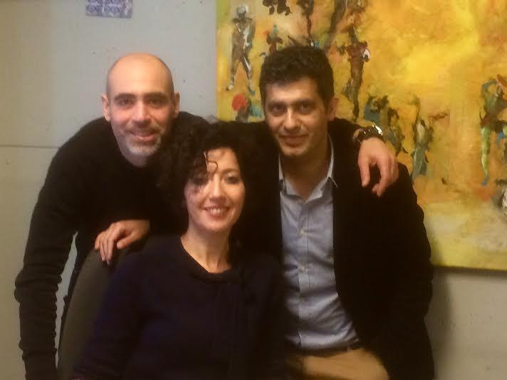 Bouchra Laun leitet mit zwei Kollegen die Workshops. Foto: Bouchra Laun