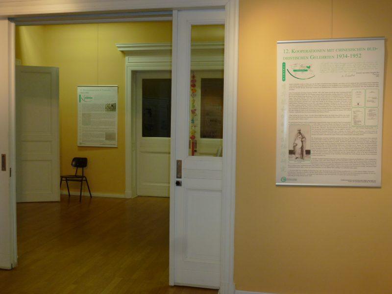 Klein, aber informativ: Die Ausstellung zeichnet das beeindruckende Leben von Walter Liebenthal nach. Foto: Judith Hollnagel