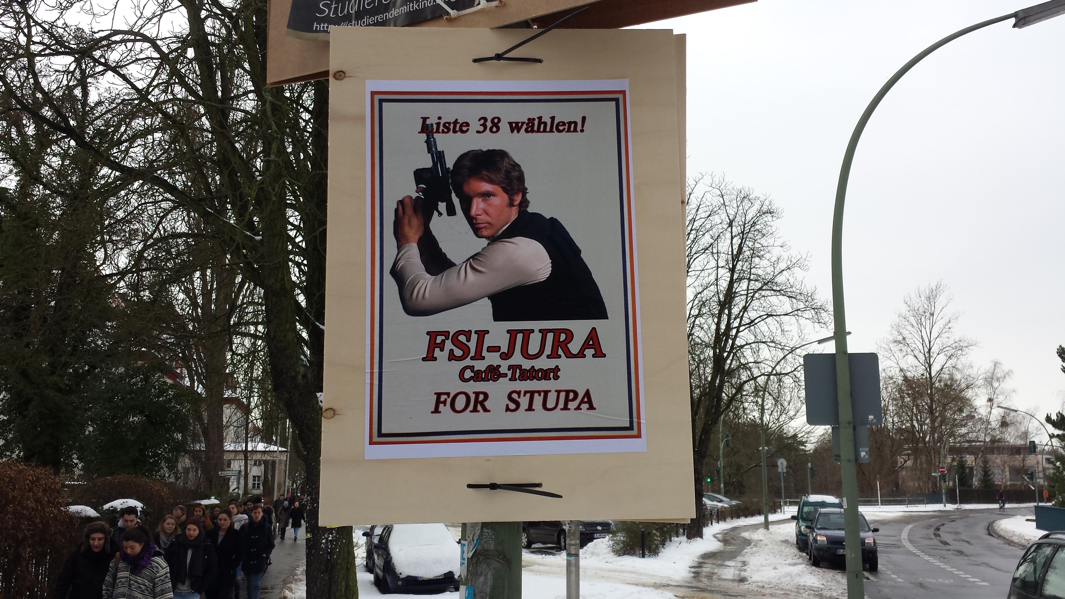 Liste 38 - FSI Jura/ Café Tatort