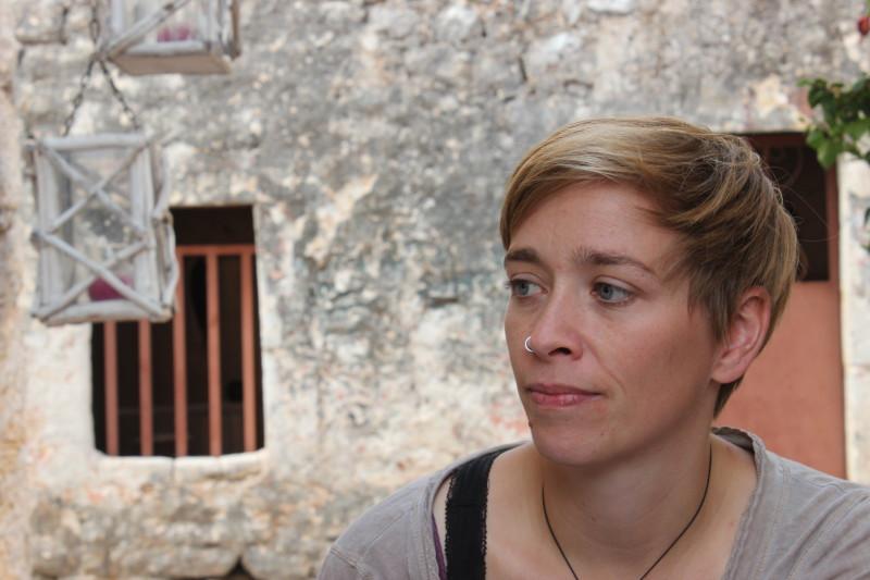 Maria Krisinger ist eine der Unterzeichnerinnen eines offenen Briefes gegen den Syrieneinsatz. Foto: privat