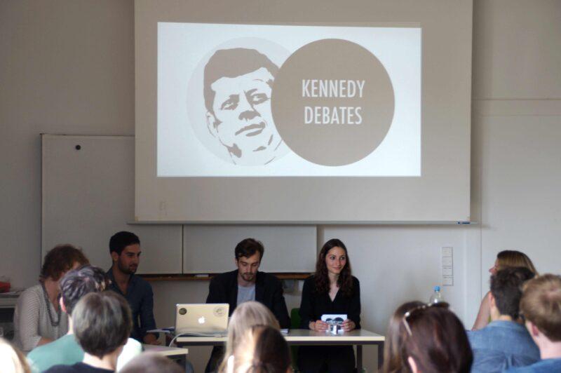 Die Kennedy Debates wurden von Studierenden des John-F.-Kennedy-Instituts ins Leben gerufen. Foto: Hannah Lichtenthäler