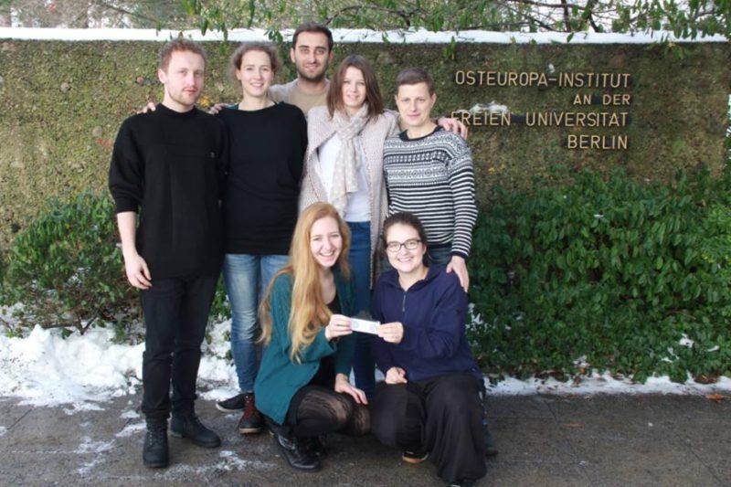 Sieben Osteuropa-Studierende bilden das Team von CaucasusFM.