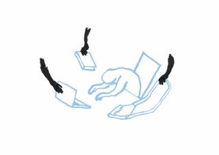So leicht ist es, einen Laptop schnell einmal mitgehen zu lassen. Illustration: David Stach