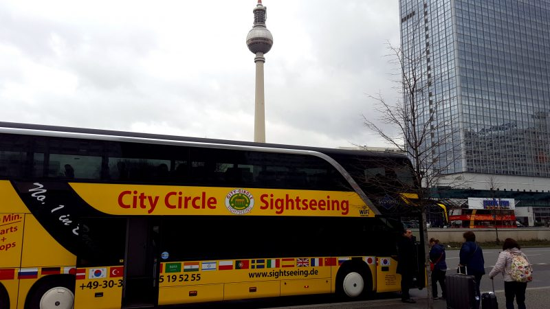 City Circle Sightseeing durch Berlin. Foto: Theo Wilde