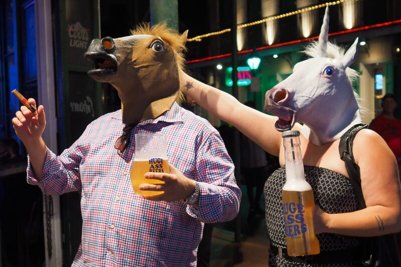 Eigentlich könnte jede Party einen Hauch von Pferd vertragen. Foto: Flickr, BPPrice (CC BY 2.0)