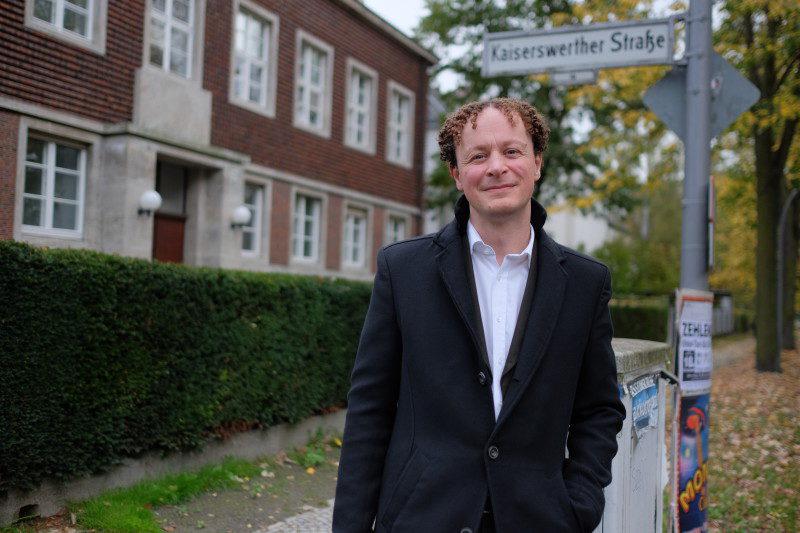 Teil des alten und neuen Präsidiums: Klaus Hoffmann-Holland. Foto: Christoph Spiegel